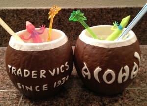 Shouldn't all Tiki drinks have rainbow geckos?